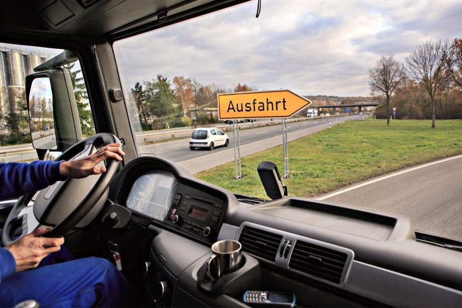 Transport der Ware von Deutschland nach Polen