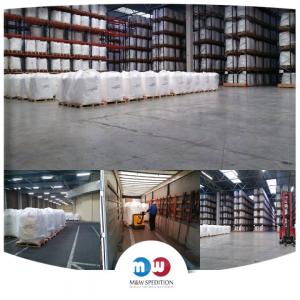 Transport von Waren: Lebensmittel auf Paletten bis 24 Tonnen.